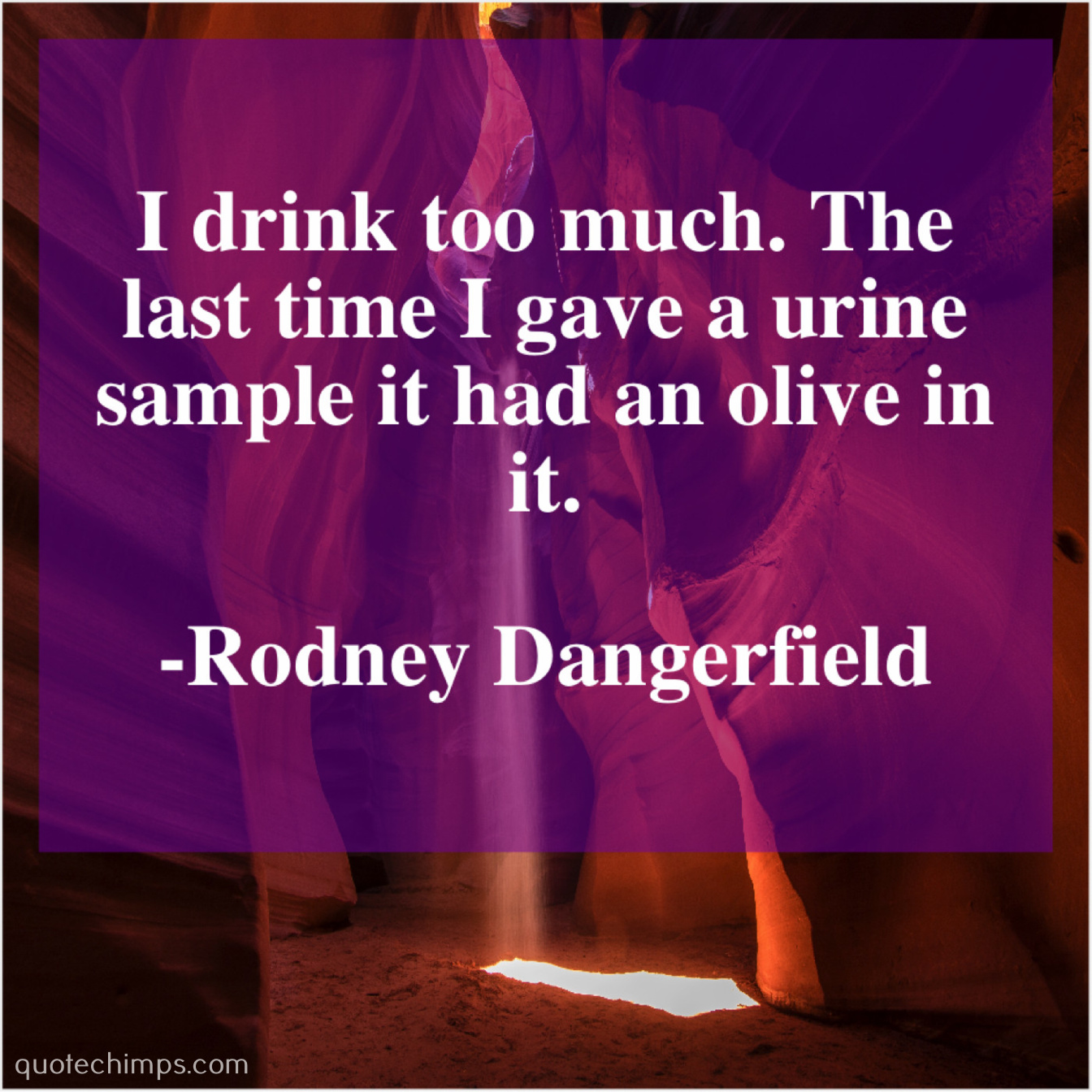Rodney Dangerfield I Drink Too Much The