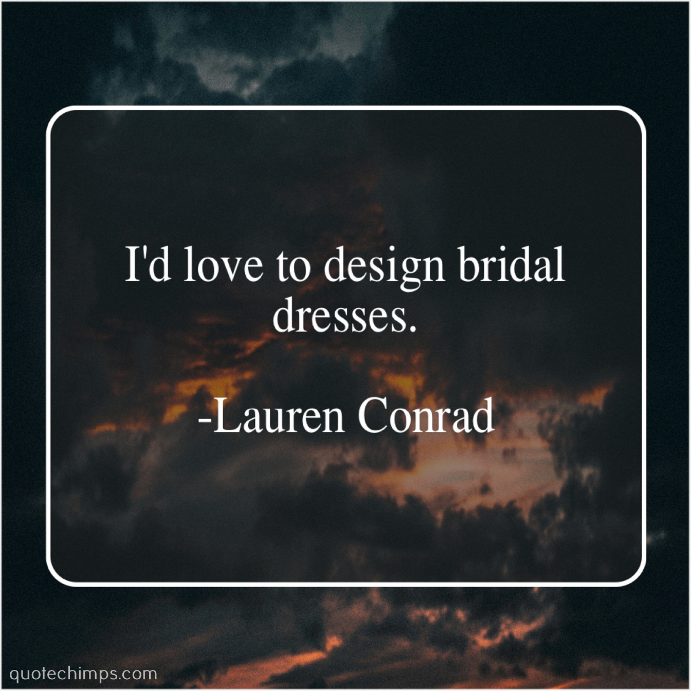 lauren conrad i d love to design bridal