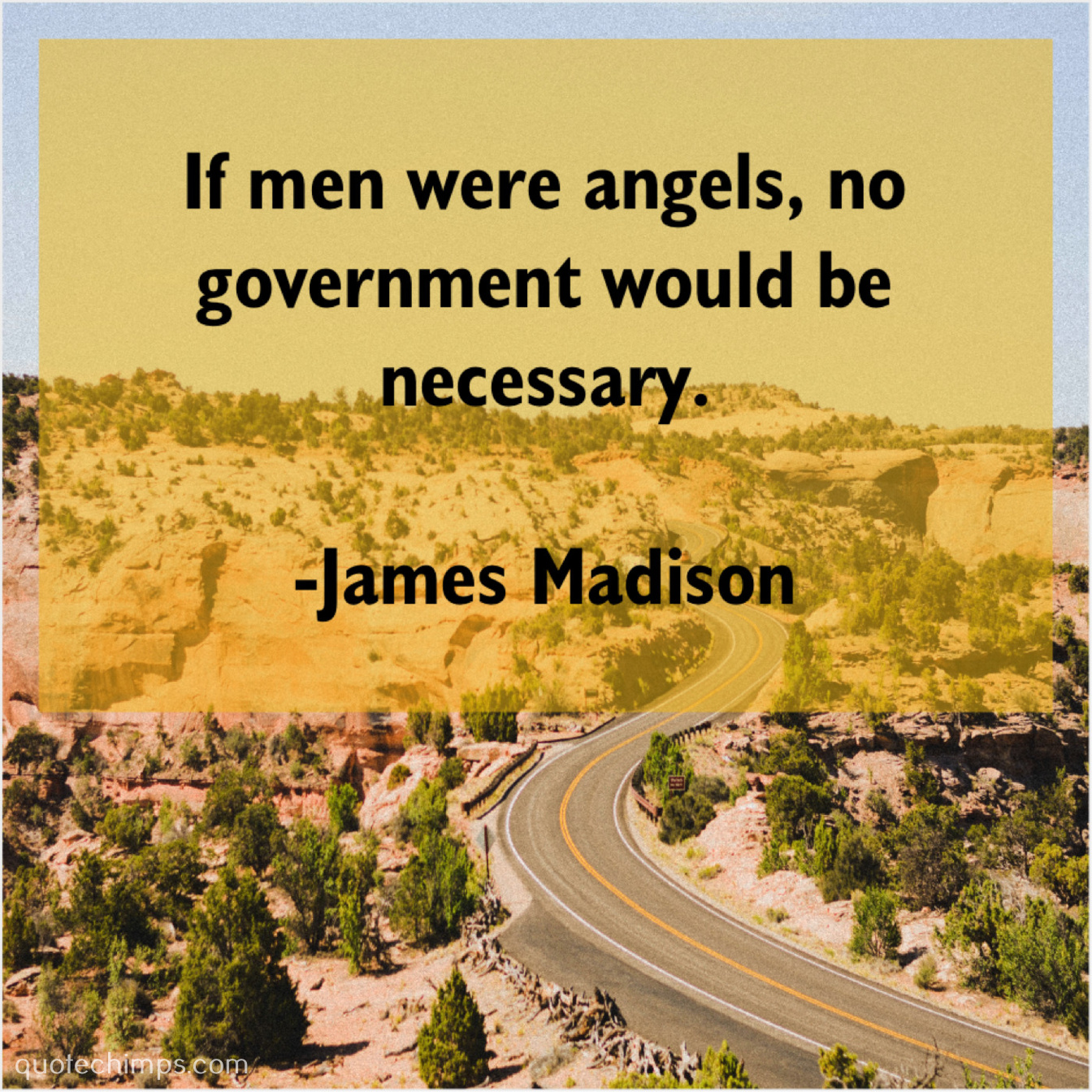if all men were angels