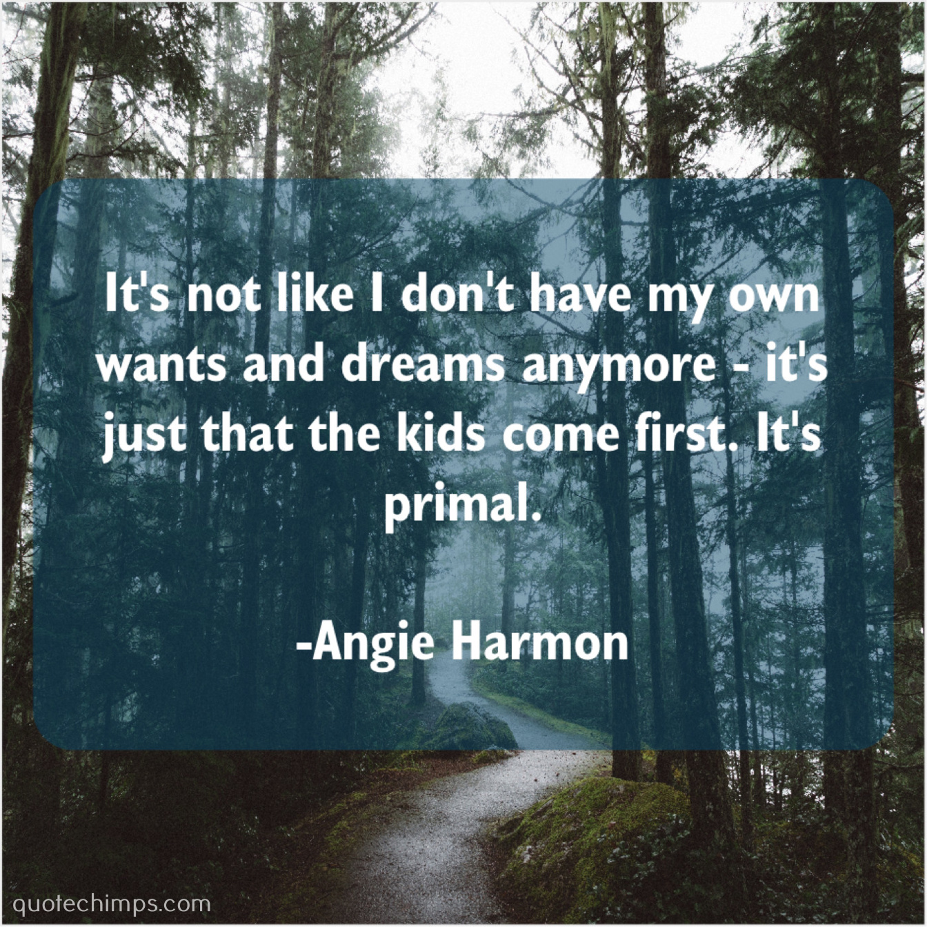 Angie Harmon – It\'s not like I don\'t… |