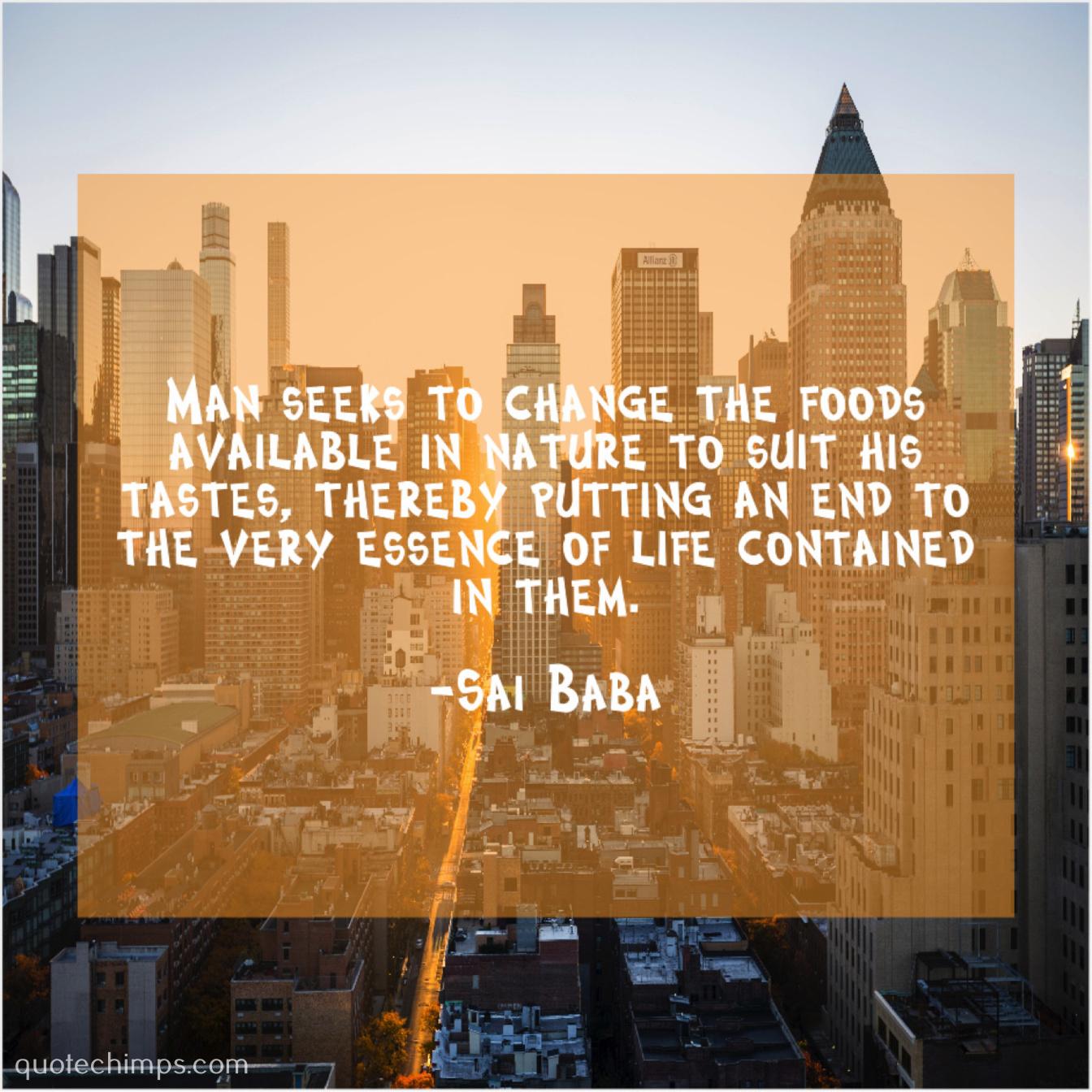 Sai Baba | | Quote Chimps
