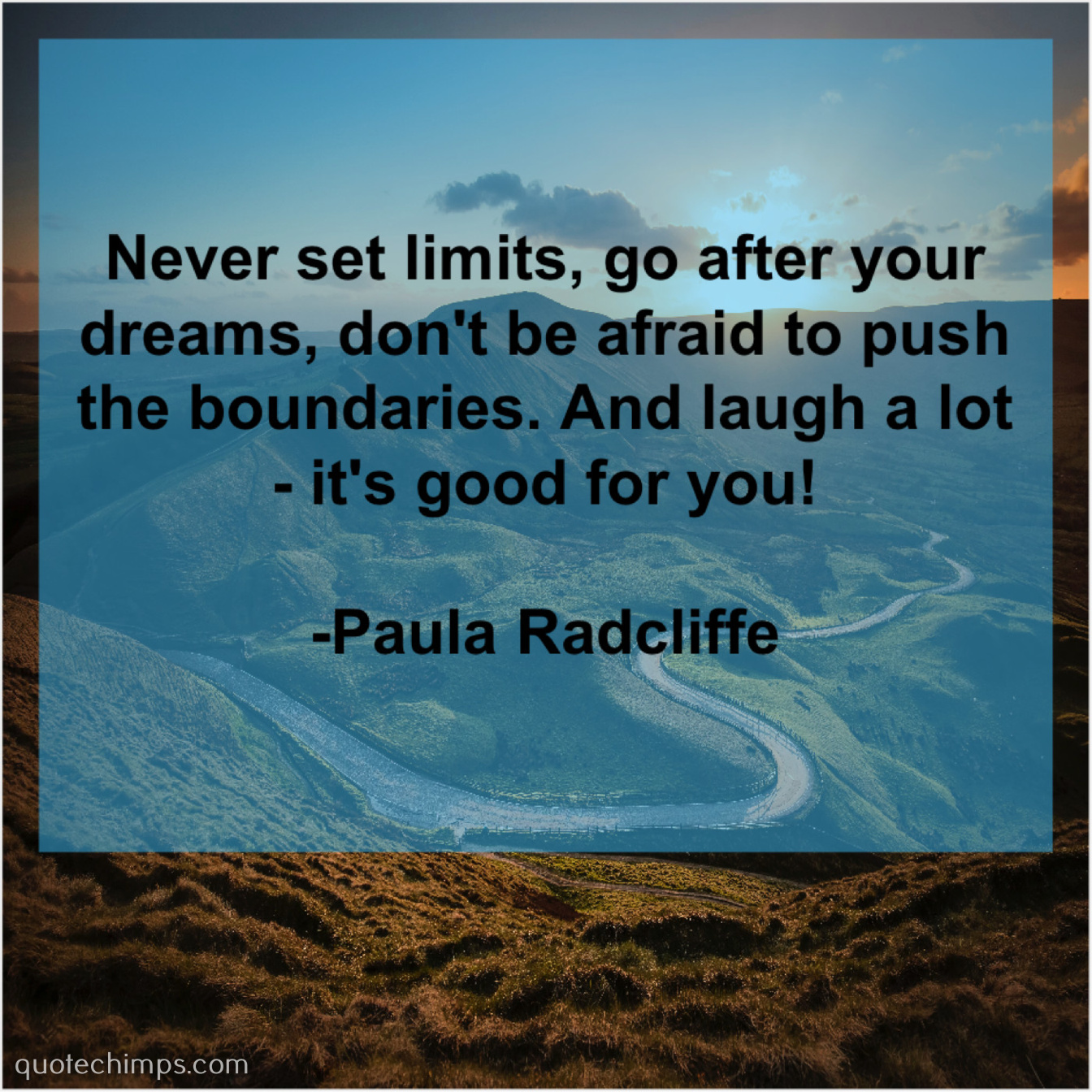 Paula Radcliffe | | Quote Chimps