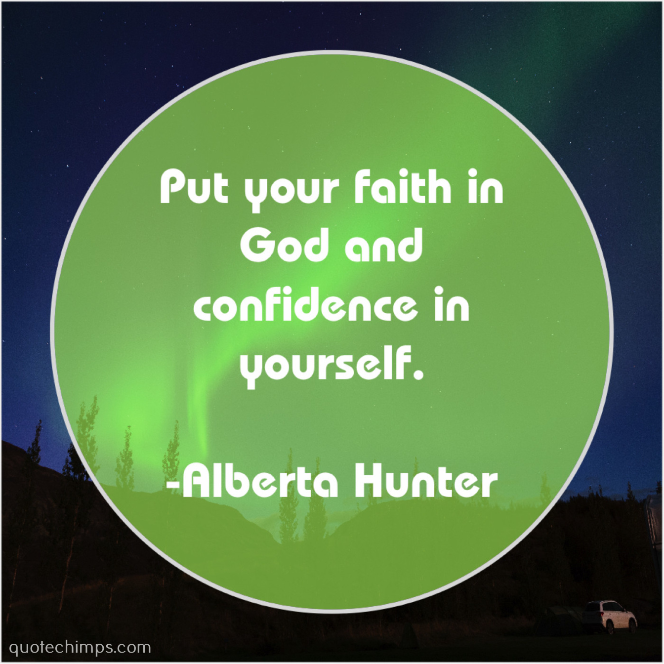 Alberta Hunter Put Your Faith In God