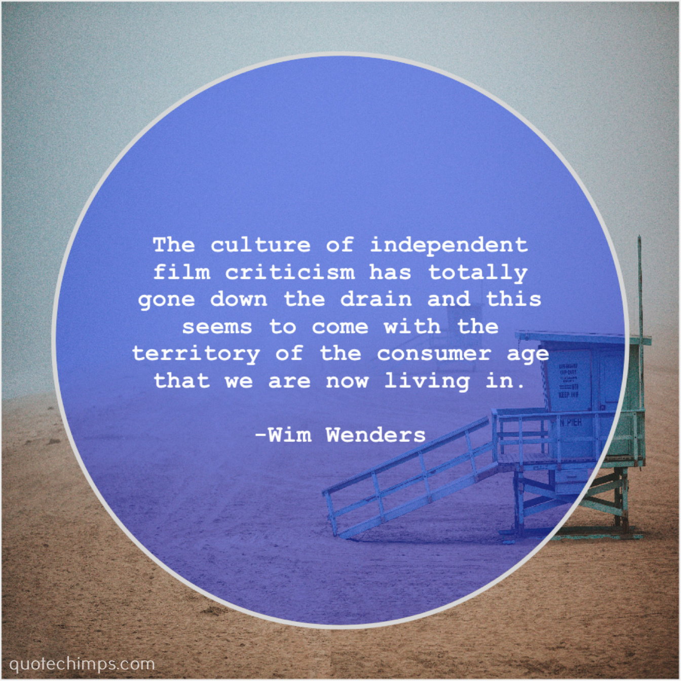 Wim Wenders The Culture Of Independent Film Quote Chimps