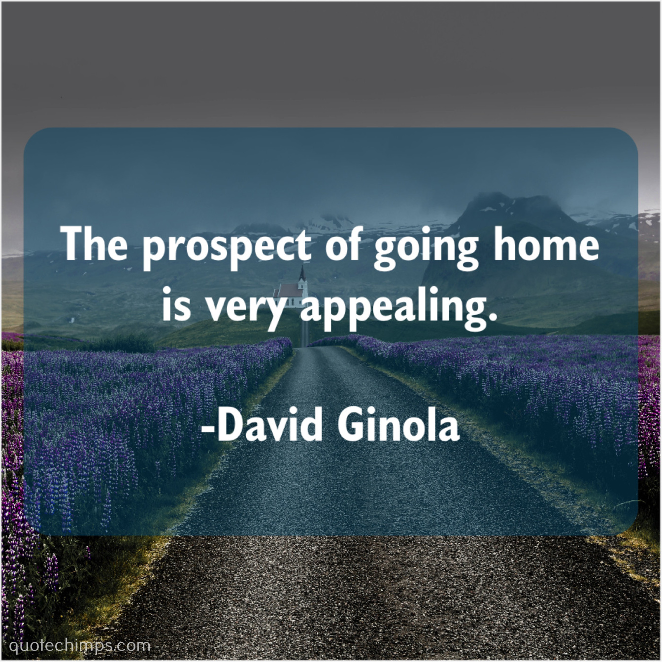 David Ginola The Prospect Of Going Home