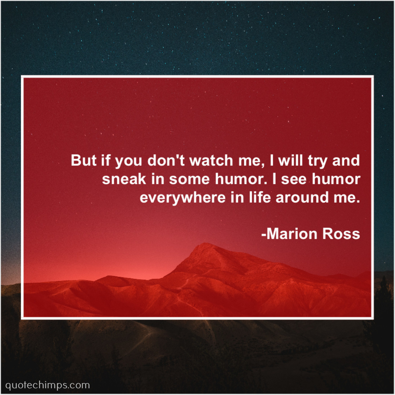 Ross Around Me >> Marion Ross But If You Don T Watch